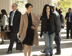 Jessica Jones and Harper