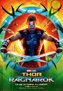 Thor Ragnarok French Character Posters 05