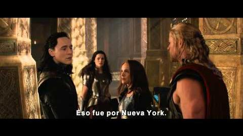 Thor Un Mundo Oscuro - Trailer 2 Oficial Subtitulado