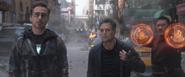 Tony Stark, Bruce Banner & Wong