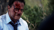 Christian bloodied