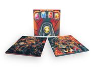 Avengers Infinity War & Endgame Soundtracks Vinyl