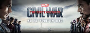 Captain America Civil War German banner