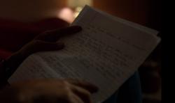 Claire's letter