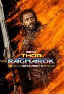 Heimdall Character Poster Thor Ragnarok