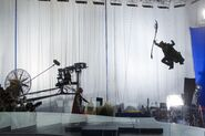 Loki Lunge Behind the Scenes