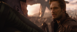 Star-Lord (Ready To Attack Thanos Up-close)