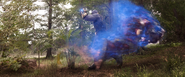 Thanos (Phasing Through Hulkbuster)