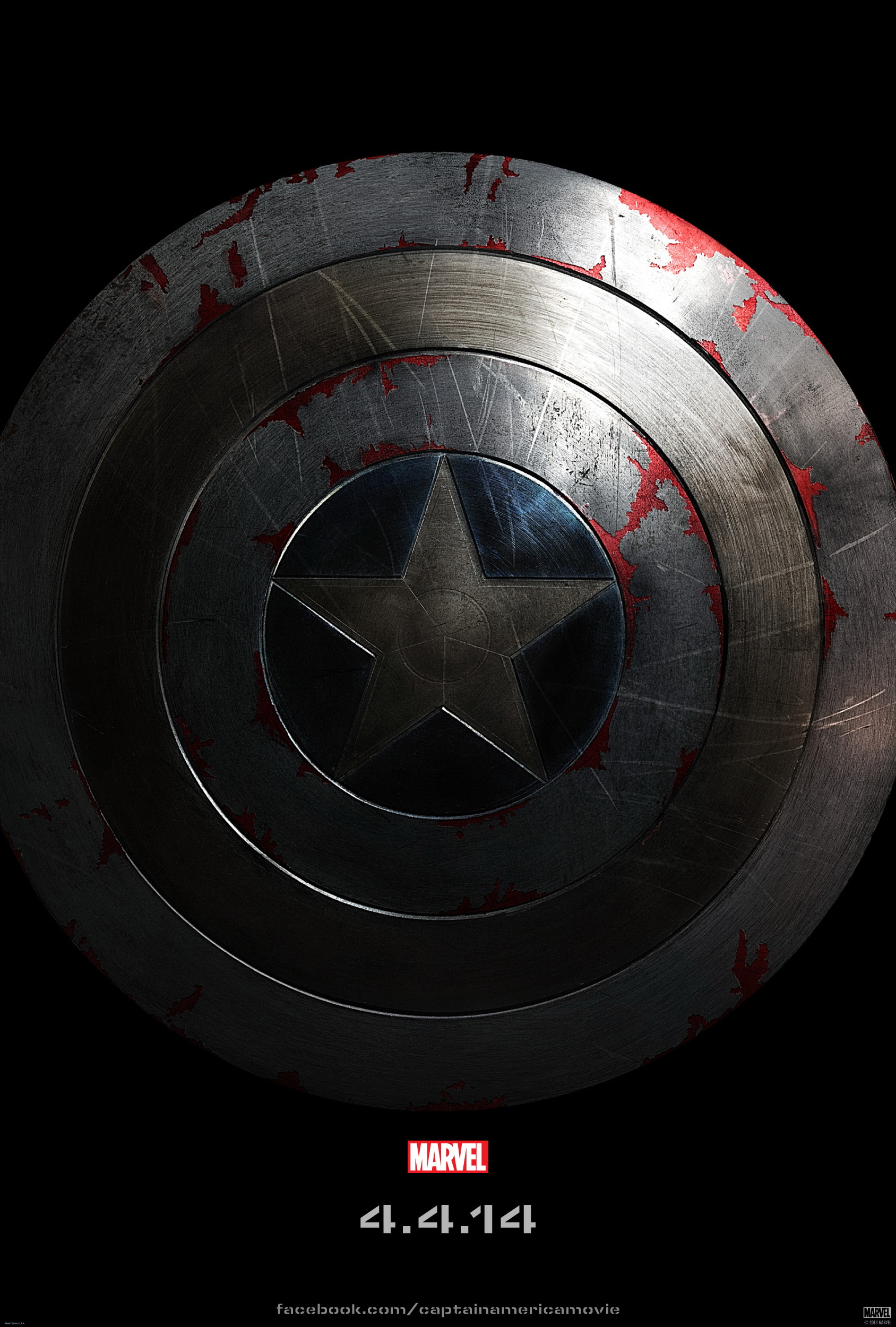 Captain America 2 Teaser Poster SHIELD Captain America 2 Poster Is All About The Shield