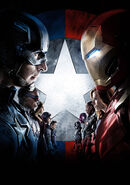 Textless Civil War Poster Iron Man's Mask