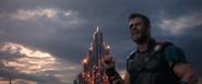 Thor Ragnarok (Thor acknowledging Surtur)