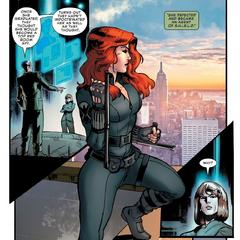 Romanoff se convierte en agente de S.H.I.E.L.D.