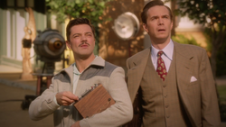 Howard Stark & Edwin Jarvis - Studio Lot