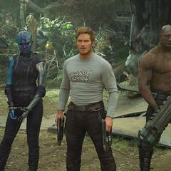 Gamora y sus aliados conocen a Ego.