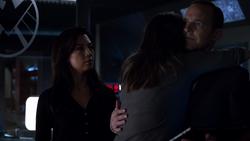 Skye hugs Coulson