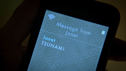 Tsunami Message