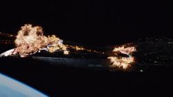 41-Qovas Ship Destroyed