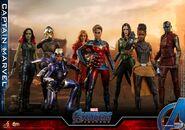 Captain Marvel Avengers Endgame Hot Toys 4