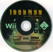 IronMan Wii EU disc