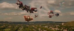 Iron Man (Mk XLIII) & Mk XLIV + Veronica