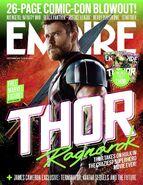 Thor Ragnarok Thor Empire Cover