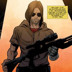 Barnes deja atrás su vida pasada como asesino de HYDRA.