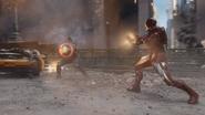 Captain America & Iron Man Teamwork