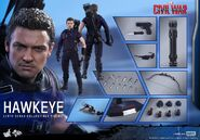 Hawkeye Civil War Hot Toys 23