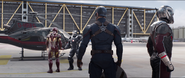 Iron Man, War Machine, Captain America & Ant-Man
