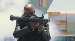 Nick aiming