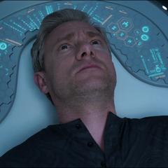 Ross despierta en el Laboratorio de Shuri.