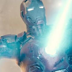 Stark destruyendo Novi Grad.