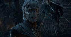 Ebony Maw and Strange