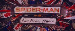 Spider-Man Far From Home Closing Title