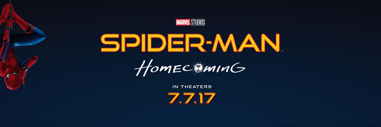 Risultati immagini per spider-man homecoming banner