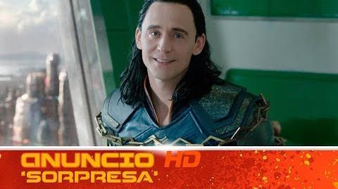 Thor Ragnarok de Marvel Anuncio 'Sorpresa' HD