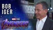 Bob Iger on the legacy of Marvel LIVE at the Avengers Endgame Premiere