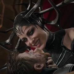 Hela amenaza a Thor con masacrar a los Asgardianos.