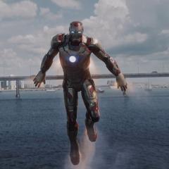 Stark tras salvar a los pasajeros.