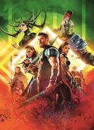 Textless Australian Thor Ragnarok Poster