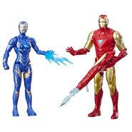 Avengers Endgame Iron Man Mark LXXXV & Rescue Figure