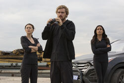 Iron Fist Coleen Wing Claire Temple