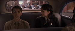 Steve and Peggy in Car