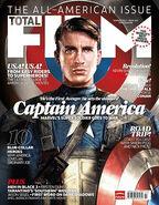 Total Film Captain America The First Avenger Cover