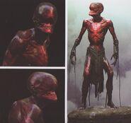 Avengers Infinity War Red Skull concept art 2