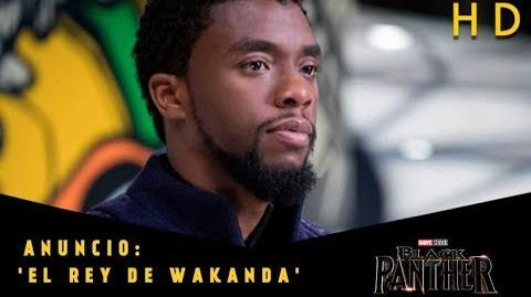 Black Panther de Marvel Anuncio 'El Rey de Wakanda' l HD