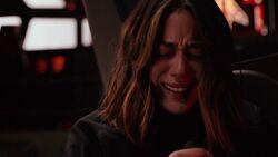 Daisy cries