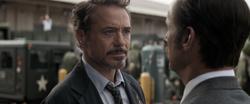 Tony and Howard Stark
