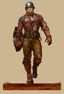 Captain America The First Avenger 2011 concept art 6