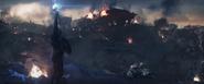 Captain America summons lightning
